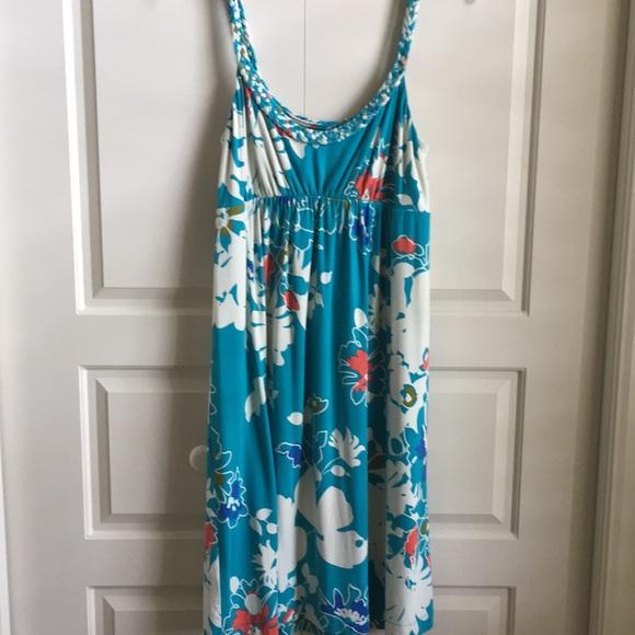 d00c8b9e62 Tommy Bahama Swim   Floral Print Cover Up Sun Dress   Poshmark